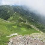 日本三百名山「茶臼岳」(便ヶ島より聖岳、光岳周回)