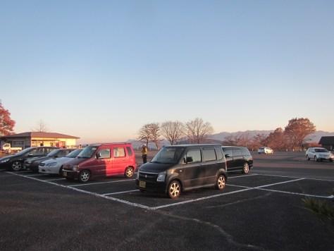 妙義公園駐車場