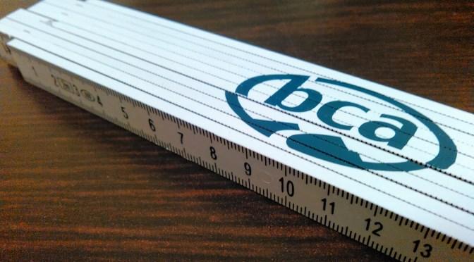 BCA「2mルーラー」について(強度体感報告)