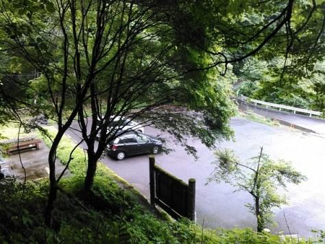 八丁トンネル登山口駐車場