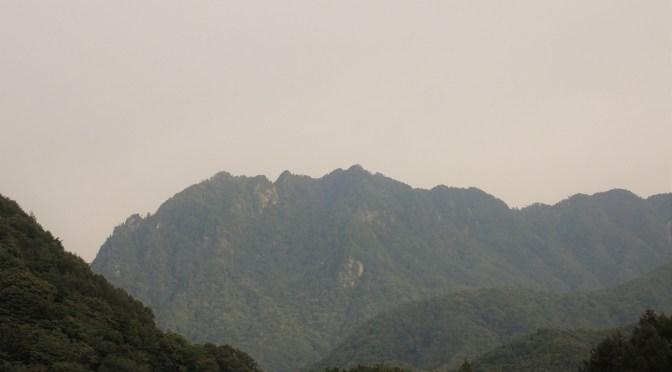奥秩父「鶏冠山」(第三岩峰まで)