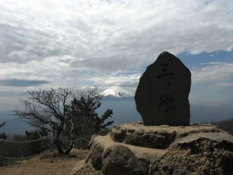 三ツ峠山頂