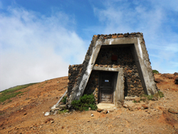 熊野岳避難小屋