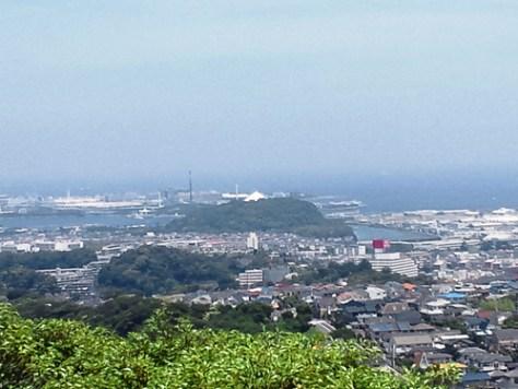 鷹取山眺望