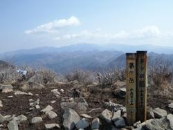 茅ヶ岳頂上