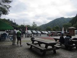 檜原都民の森駐車場