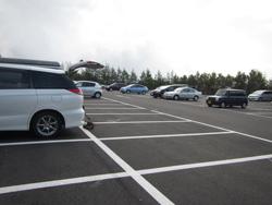 五合目駐車場