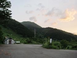 勝原スキー場駐車場