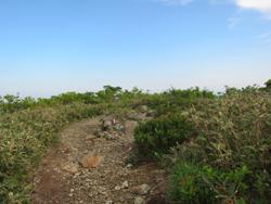 小荒島岳山頂