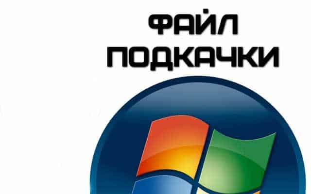 Файл подкачки в Windows