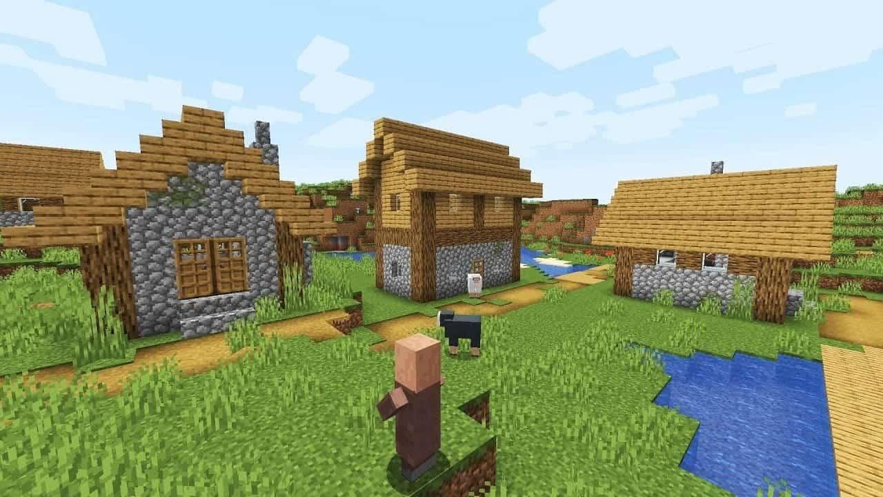 Αγοράστε ένα μάτι στους κατοίκους του Minecraft