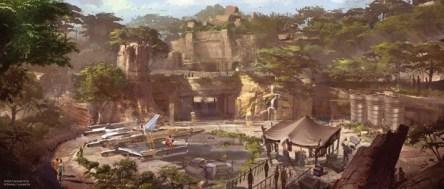 Star Wars Land – Attraction Details https://1000000peoplewholovedisney.wordpress.com/2016/03/03/star-wars-land-attraction-details/
