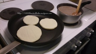 Arepa and Cloves Hot Chocolate in the making xD