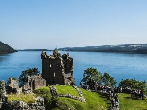 architecture, background, britain, building, castle, europe, famous, highlands, historic, history, holiday, lake, landmark, landscape, loch, ness, old, scotland, scottish, sky, summer, tourism, travel, uk, urquhart