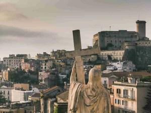 View from the church of San Francesco, Gaeta