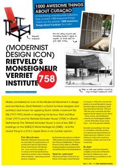 #758. Modernist Design Icon Rietveld's Monseigneur Verriet Institute in Go Weekly magazine