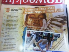 #840 Angelito Negro by Garrick Marchena featured in GO Weekly's 48th Edition.
