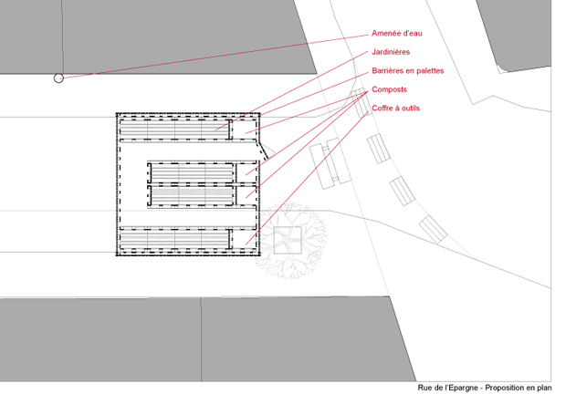 plan potager quartier alhambra bruxelles