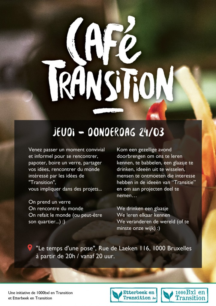Café Transition Bruxelles