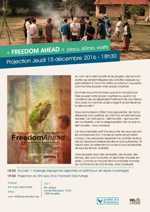 Affiche Freedom Ahead