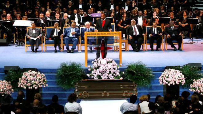 charles ellis aretha's funeral