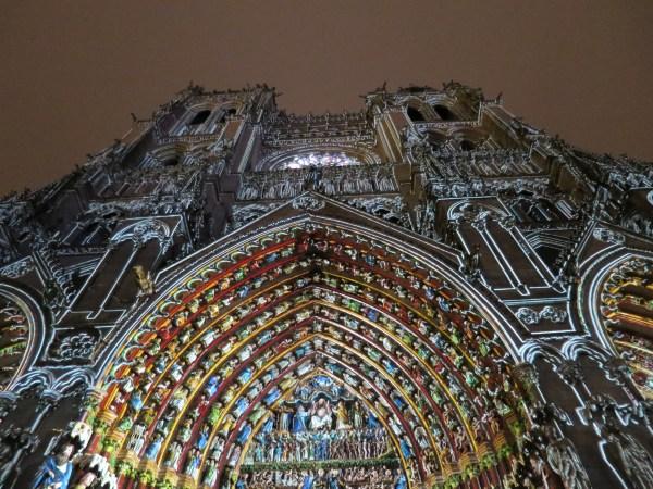 Amiens cathédrale couleurs PMR