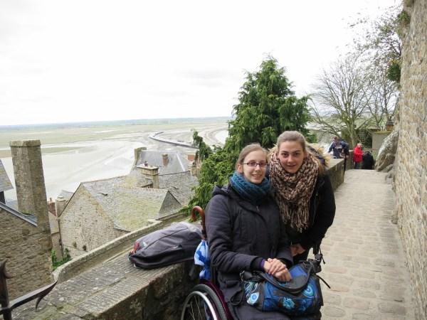 Mont Saint-Michel fauteuil roulant PMR