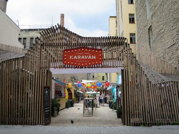 Budapest Street Food Restaurant Karavan