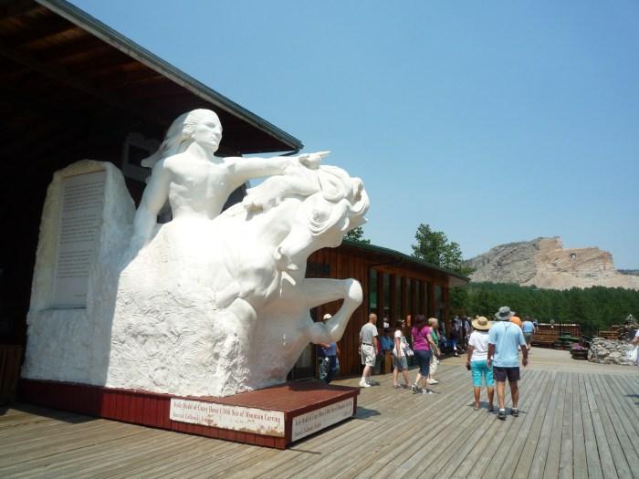Ouest américain Crazy Horse