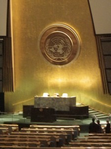 UN main chamber