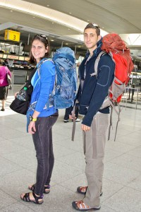 backpack airport