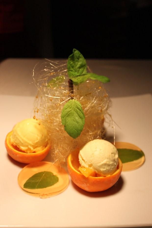 Dessert with Oranges