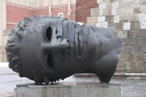 Modern art Krakow Poland