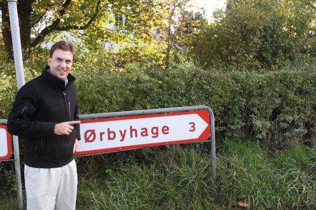 The road to Orbyhage