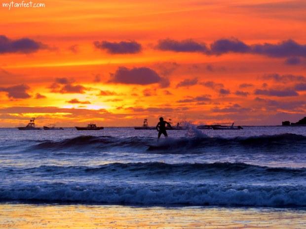 Costa ricka sunset