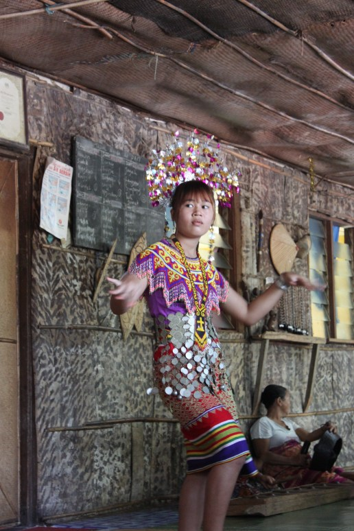 Longhouse dancer