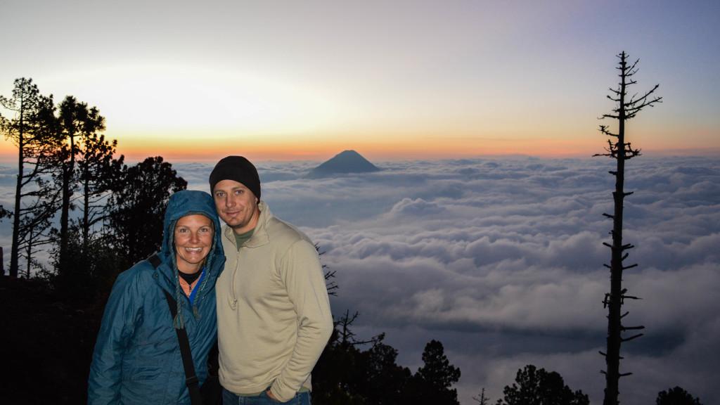traveling couple Guatemala