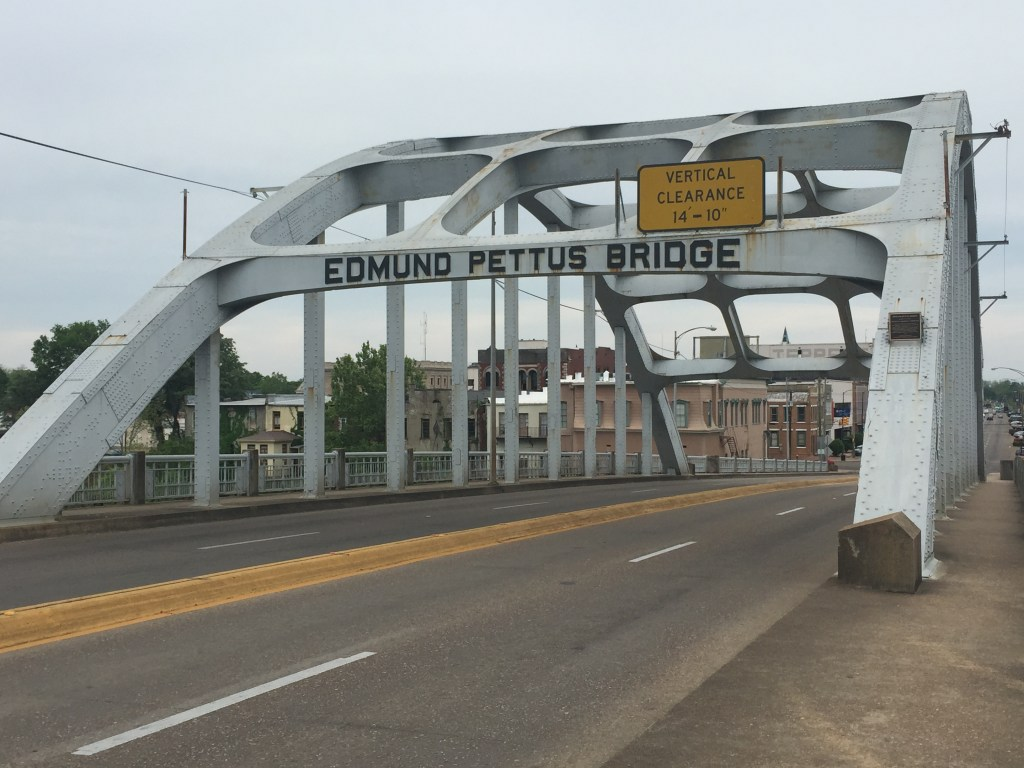 Edmund Petitus Bridge. Selma, Alabama