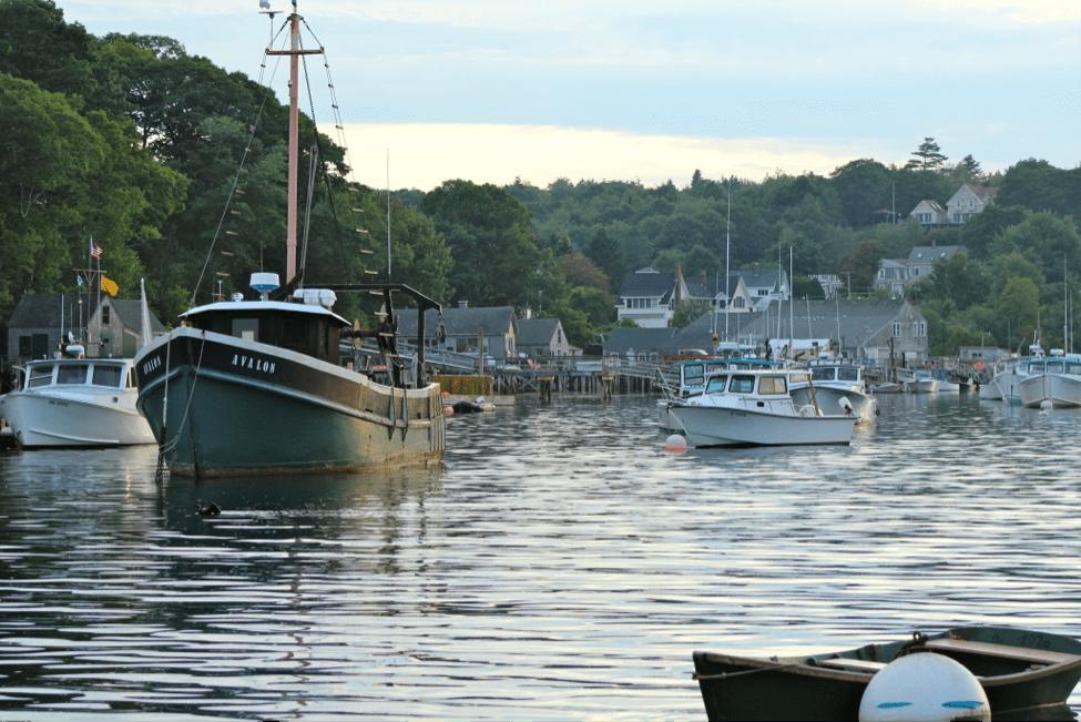 Maine seven harbor pic