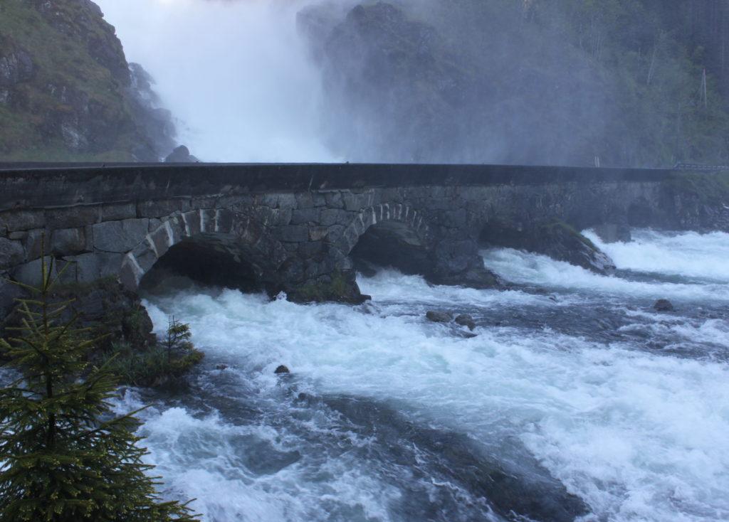 Latefossen Falls