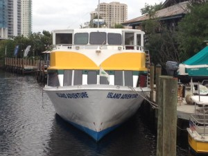1000 Islands' former ABL Neptune, now Ft Lauderdale Water Taxi