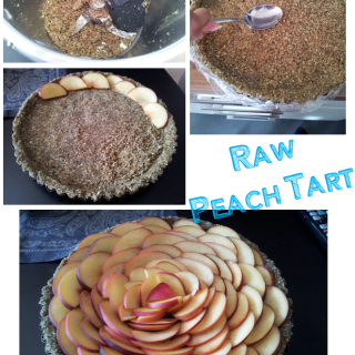 Vegan Peach Tart