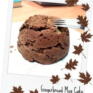 Gingerbread Mug Cake