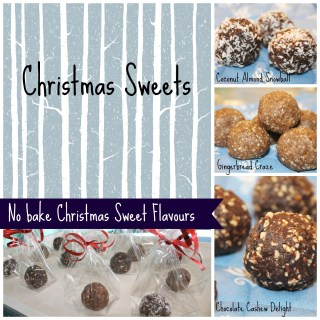 No bake Christmas Sweets