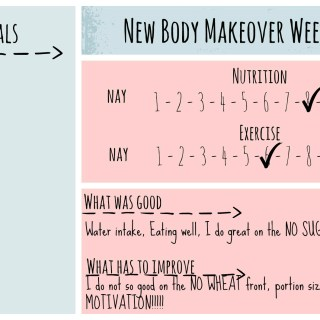 New Body Makeover Challenge – Week 3