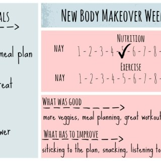 New Body Makeover Challenge – Week 7