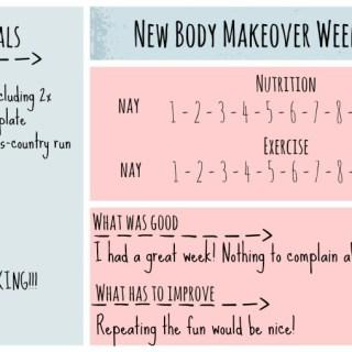 New Body Makeover Challenge – Week 8
