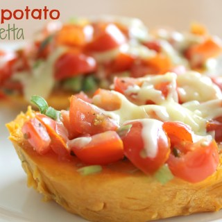 Sweetpotato Bruschetta