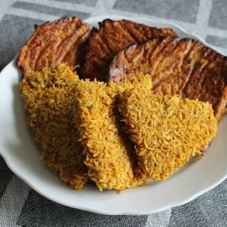 Coconut Crusted Mini Schnitzel