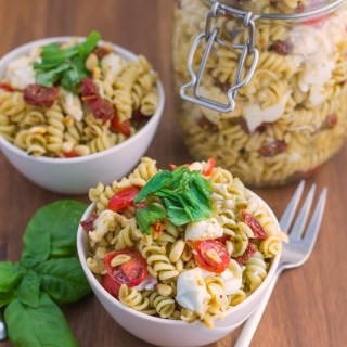 Italian Pesto Pasta Salad Recipe